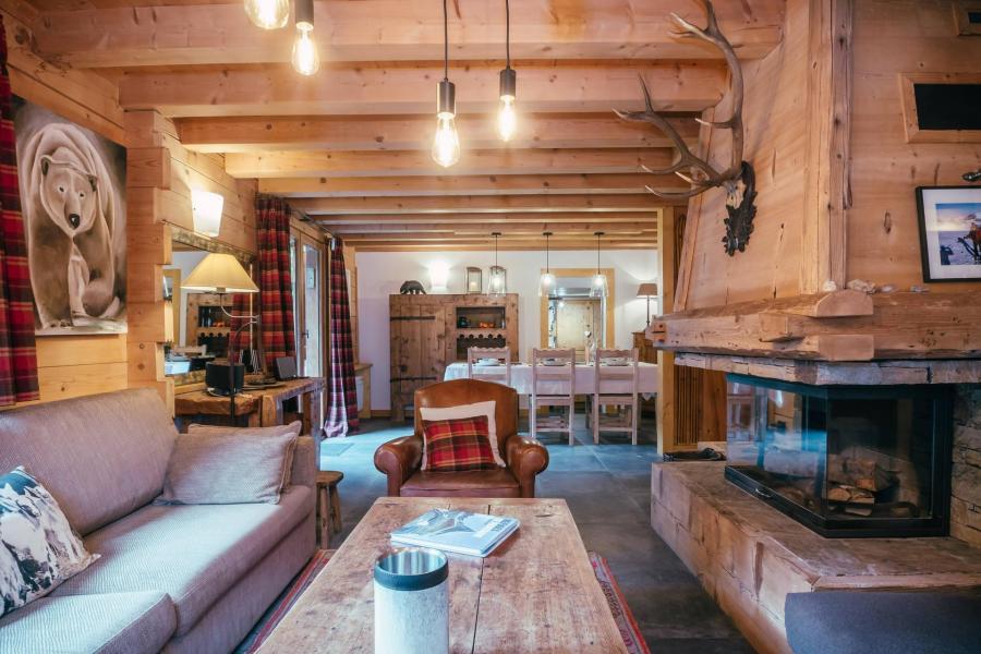 Vacances en montagne Chalet 6 pièces 8 personnes - Chalet Macha - Chamonix - Séjour
