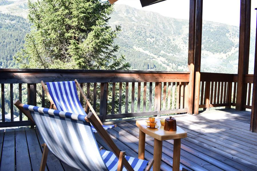 Holiday in mountain resort 5 room mezzanine chalet 10 people - Chalet Manekineko - Méribel - Summer outside