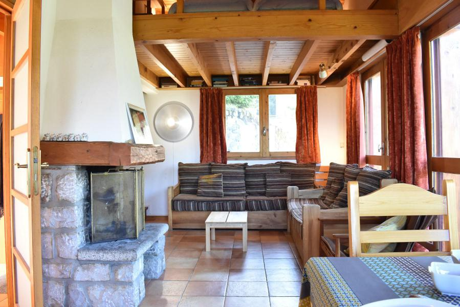 Vacances en montagne Chalet 5 pièces mezzanine 10 personnes - Chalet Manekineko - Méribel - Séjour