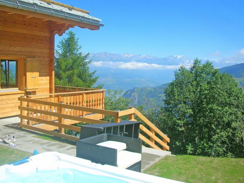 Vacances en montagne Chalet Marguerite - Thyon - Extérieur été
