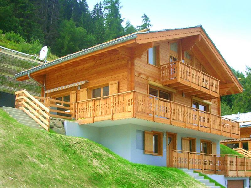 Location au ski Chalet Marguerite - Thyon - Extérieur été