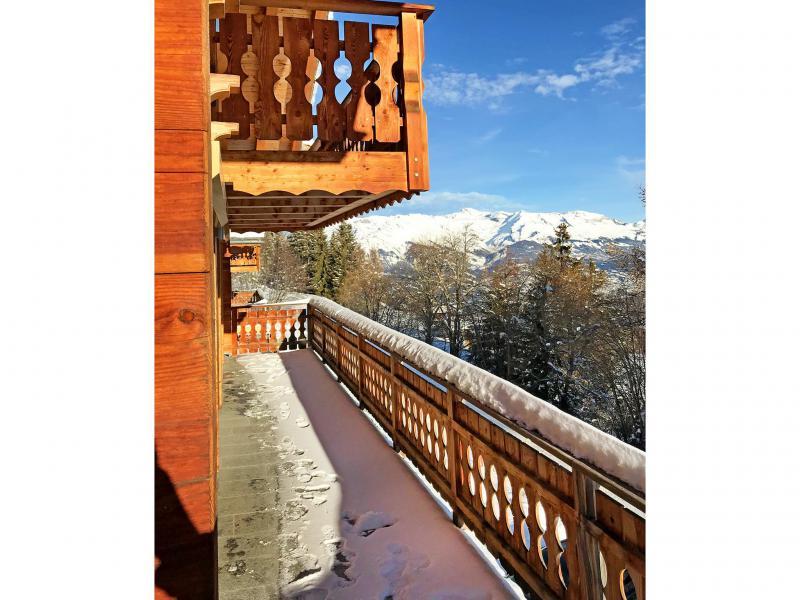 Vacances en montagne Chalet Marguerite - Thyon - Balcon