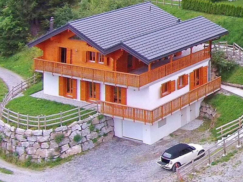 Location au ski Chalet Maria - La Tzoumaz - Extérieur été