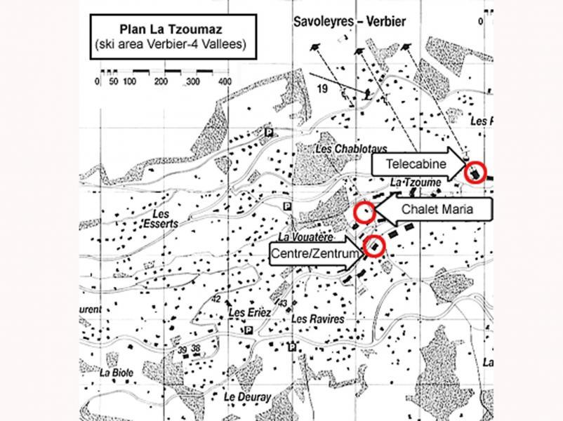 Vacances en montagne Chalet Maria - La Tzoumaz - Plan