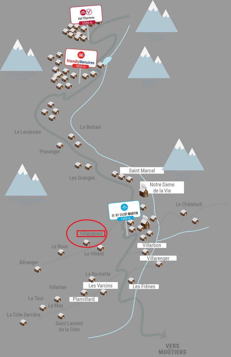 Vacaciones en montaña Chalet Marmotte - Saint Martin de Belleville