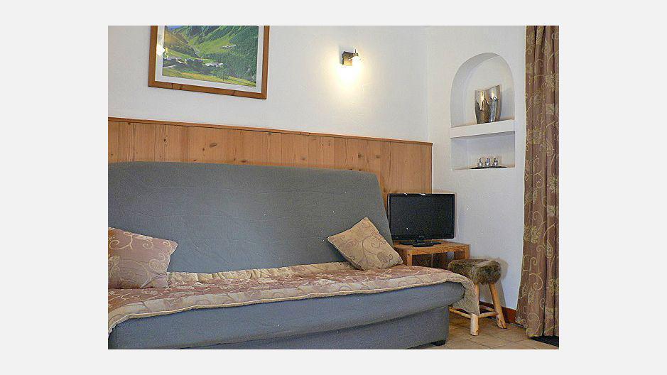 Vacances en montagne Appartement 2 pièces 4 personnes - Chalet Marmottes - Saint Martin de Belleville - Séjour