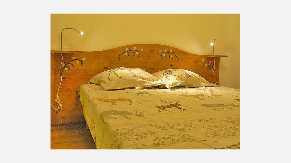 Vacances en montagne Chalet triplex 4 pièces 6 personnes - Chalet Marmottes - Saint Martin de Belleville - Chambre