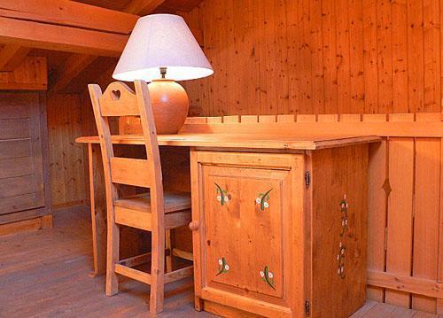 Vacances en montagne Chalet triplex 4 pièces 7 personnes - Chalet Marmottes - Saint Martin de Belleville - Bureau
