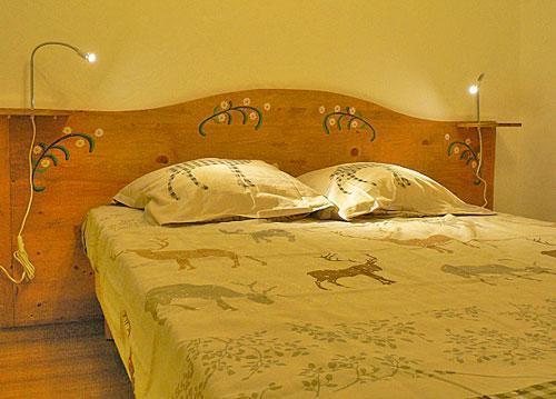 Vacances en montagne Chalet triplex 4 pièces 7 personnes - Chalet Marmottes - Saint Martin de Belleville - Chambre