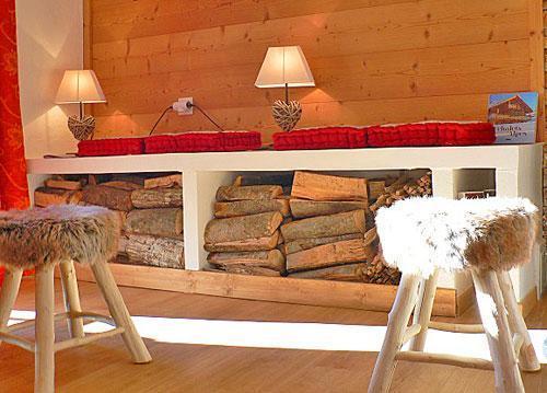 Vacances en montagne Chalet triplex 4 pièces 7 personnes - Chalet Marmottes - Saint Martin de Belleville - Séjour