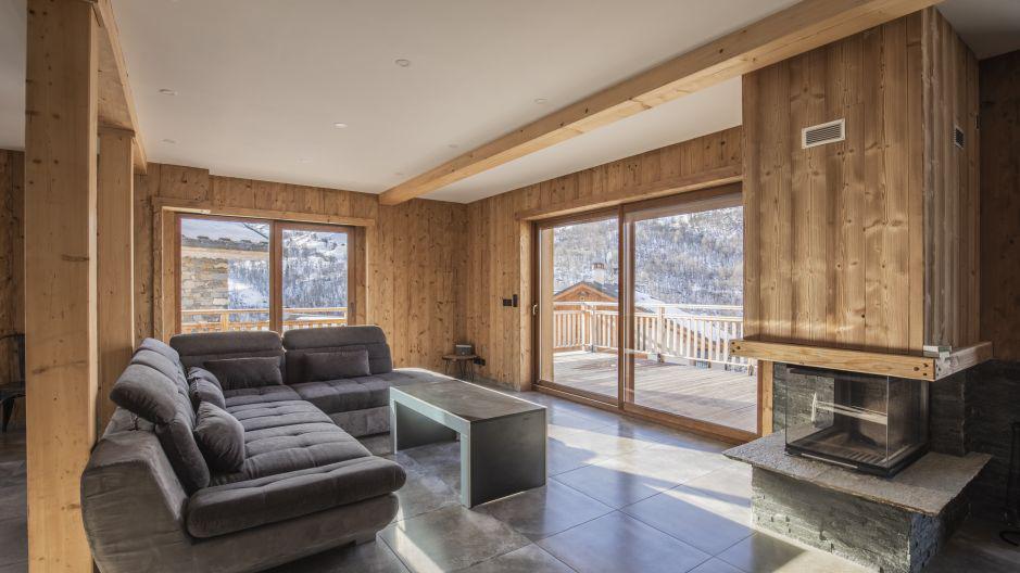 Wakacje w górach Chalet Matangie - Les Menuires - Pokój gościnny