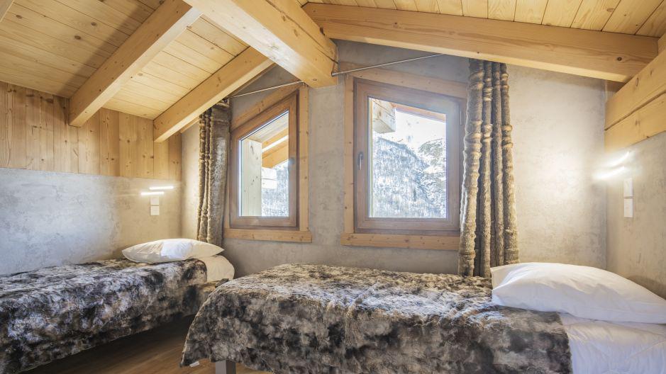 Wakacje w górach Chalet Matangie - Les Menuires - Pokój na poddaszu