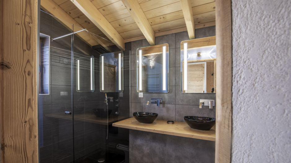 Wakacje w górach Chalet Matangie - Les Menuires - Prysznicem