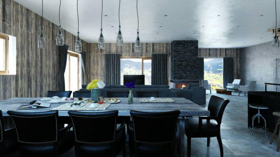 Vacances en montagne Chalet Matangie - Les Menuires - Salle à manger