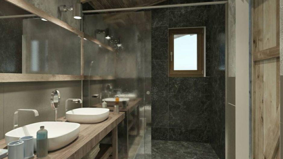 Vacances en montagne Chalet Matangie - Les Menuires - Salle d'eau