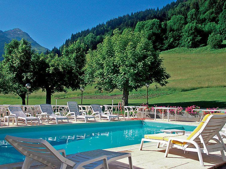 Holiday in mountain resort Chalet Matine - Morzine - Summer outside
