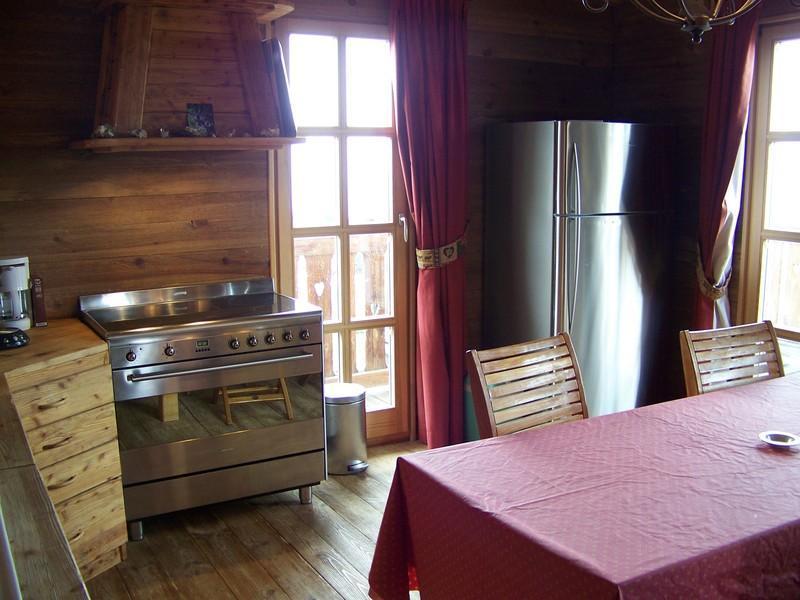 Vacances en montagne Chalet Mélusine - Alpe d'Huez - Cuisine ouverte