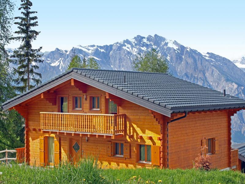 Location au ski Chalet Michelle - La Tzoumaz - Extérieur été