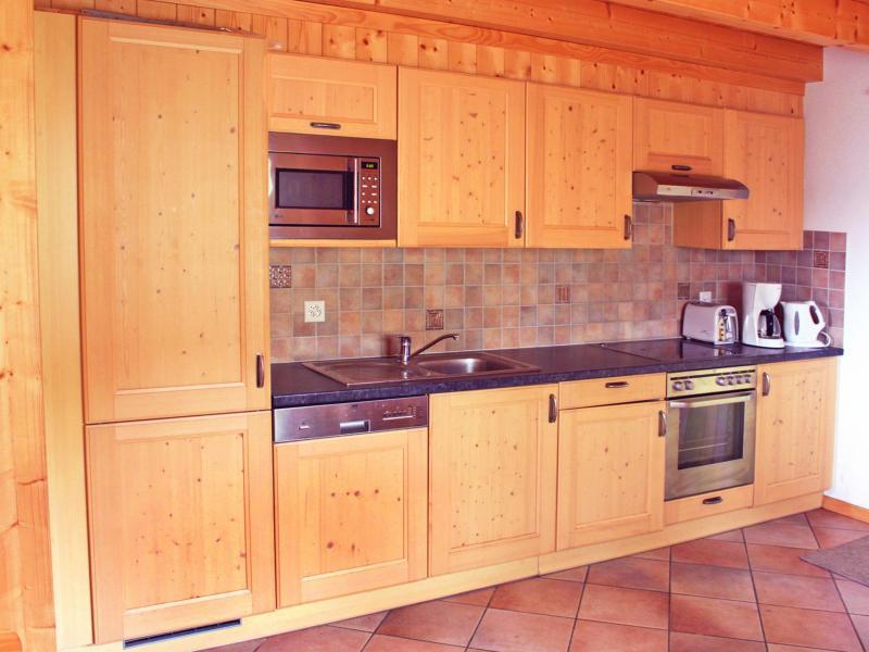 Vacaciones en montaña Chalet Michelle - La Tzoumaz - Cocina