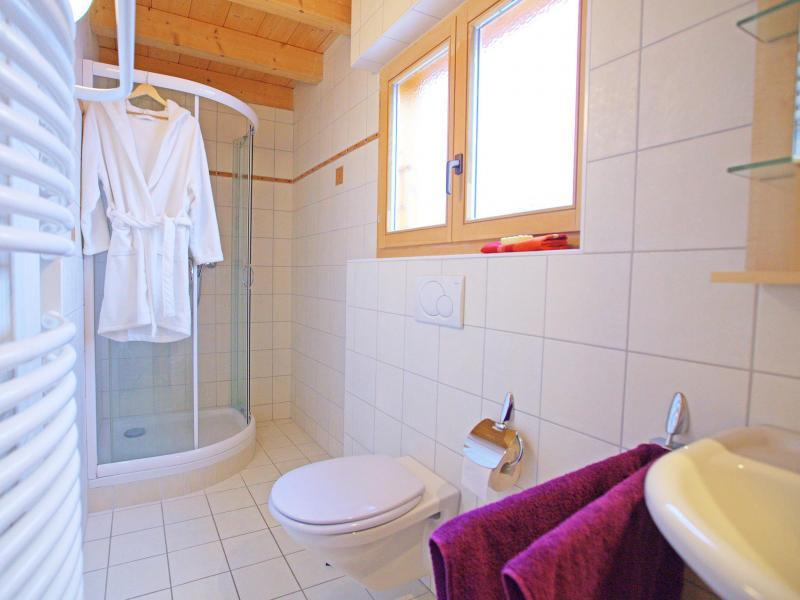 Vacaciones en montaña Chalet Michelle - La Tzoumaz - Cuarto de baño con ducha