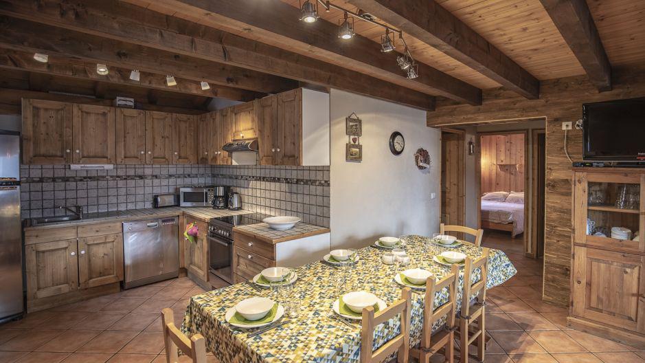 Vacances en montagne Chalet Mimosa - Saint Martin de Belleville - Cuisine