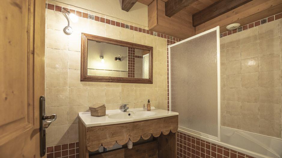 Vacances en montagne Chalet Mimosa - Saint Martin de Belleville - Salle de bains