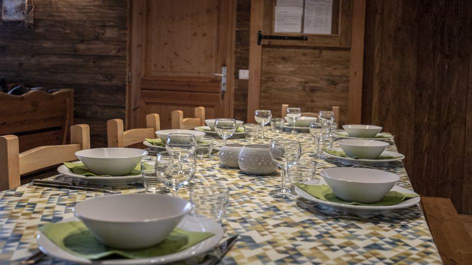Vacances en montagne Chalet Mimosa - Saint Martin de Belleville - Table