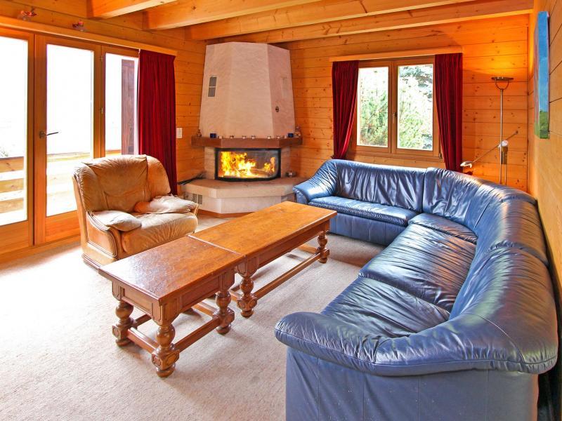 Vacanze in montagna Chalet Mouettes - La Tzoumaz - Soggiorno
