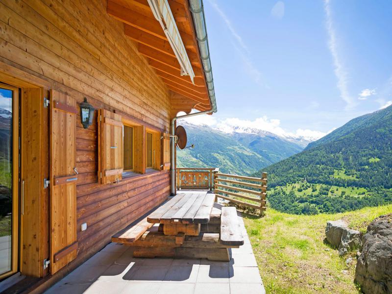 Rent in ski resort Chalet Mountain Star - Thyon - Summer outside