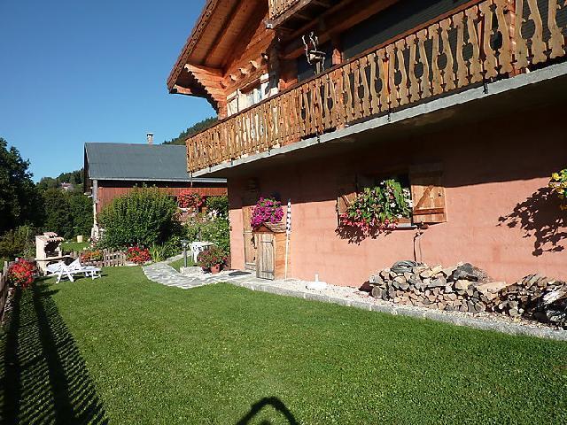 Vakantie in de bergen Studio 4 personen (1) - Chalet Namasté - Le Grand Bornand - Buiten zomer