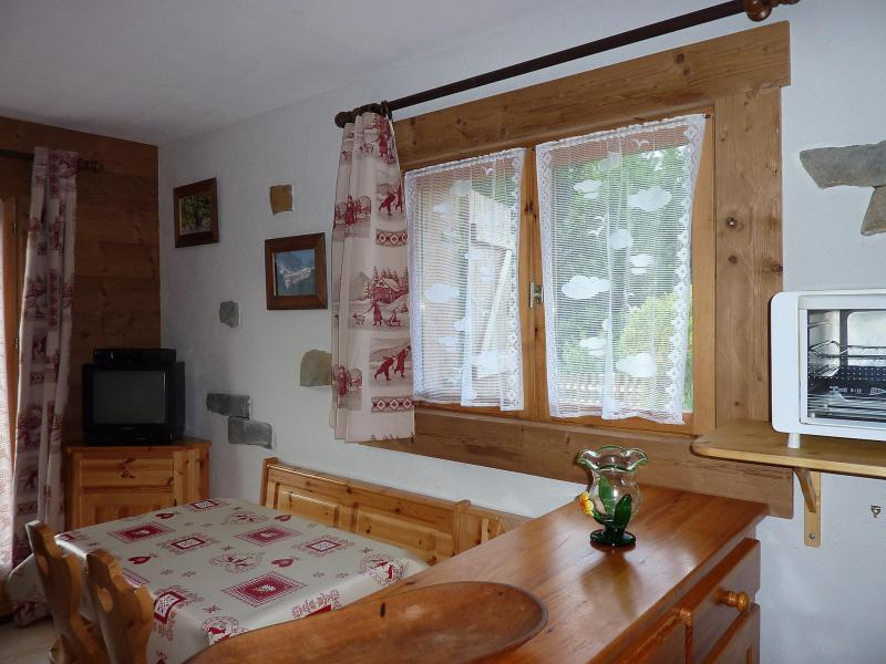 Holiday in mountain resort Studio 4 people (1) - Chalet Namasté - Le Grand Bornand - Accommodation
