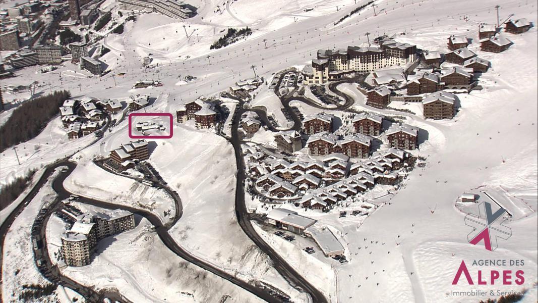 Vacances en montagne Chalet Nécou - Les Menuires - Plan