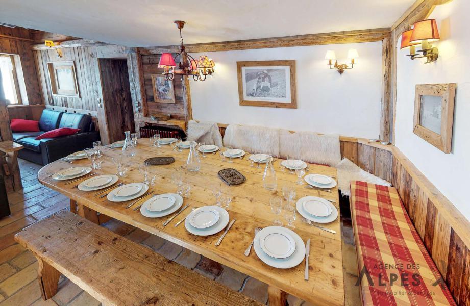 Vacances en montagne Chalet triplex 8 pièces 16 personnes - Chalet Nécou - Les Menuires - Salle à manger