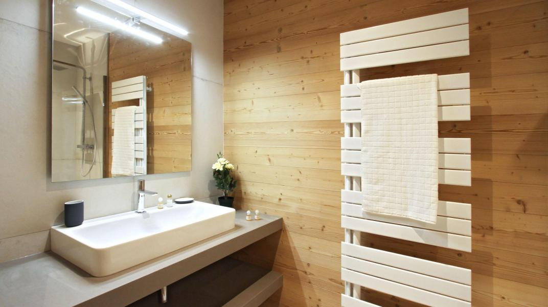 Vacaciones en montaña Chalet Nuance de Gris - Alpe d'Huez - Cuarto de baño con ducha
