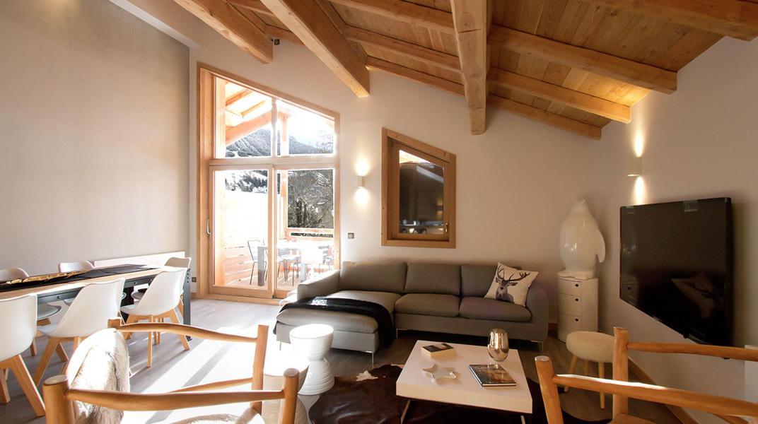 Wakacje w górach Chalet Nuance de Gris - Alpe d'Huez - Pokój gościnny