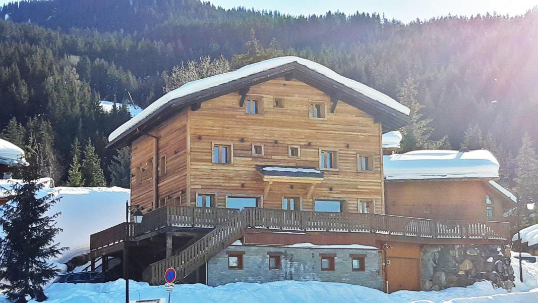 Holiday in mountain resort 8 room triplex chalet 15 people (ORCHIS) - Chalet Orchis - La Tania