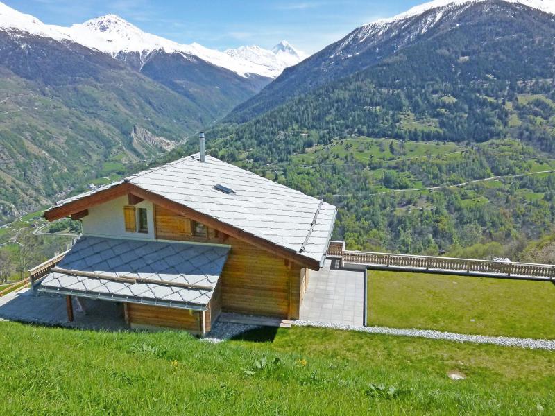 Vacances en montagne Chalet Ourson Blanc - Thyon - Extérieur été