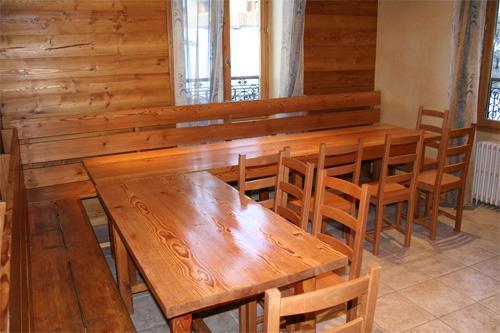 Vacances en montagne Chalet 9 pièces 18 personnes - Chalet Oursons - Saint Martin de Belleville - Coin repas