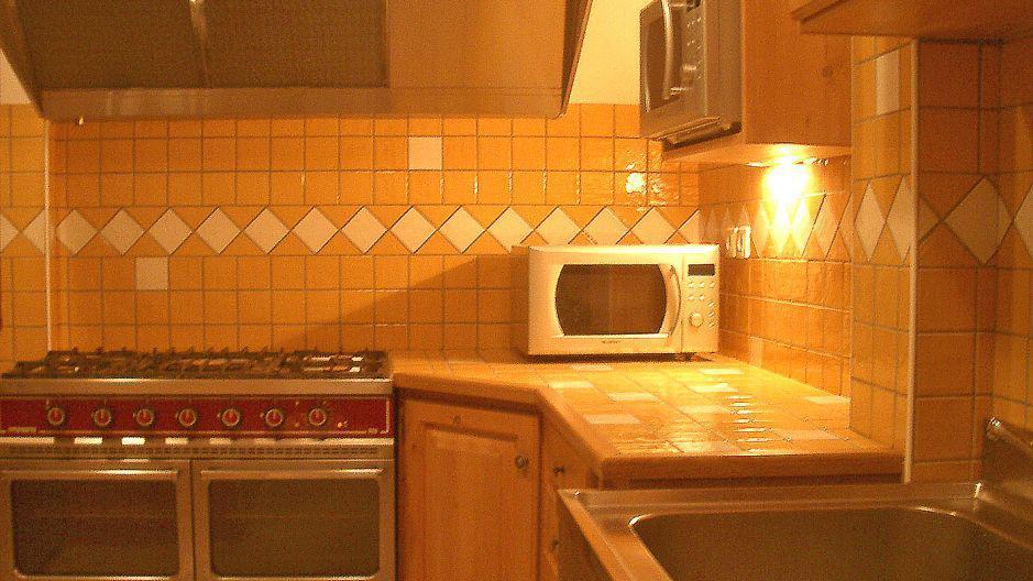 Urlaub in den Bergen Chalet Oursons - Saint Martin de Belleville - Küche