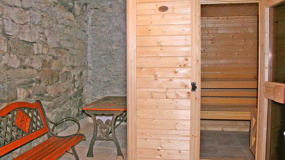 Urlaub in den Bergen Chalet Oursons - Saint Martin de Belleville - Sauna
