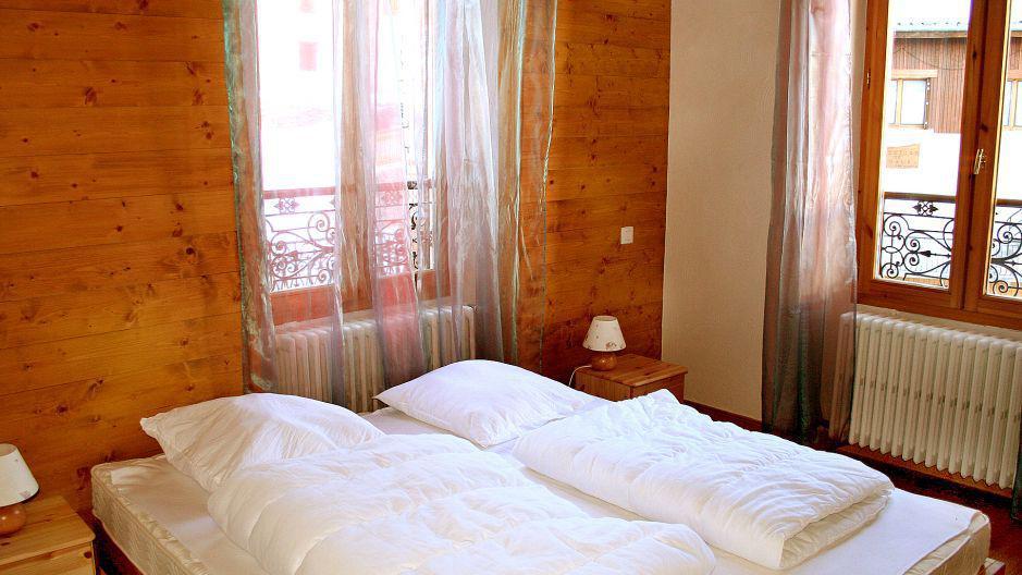 Urlaub in den Bergen Chalet Oursons - Saint Martin de Belleville - Schlafzimmer