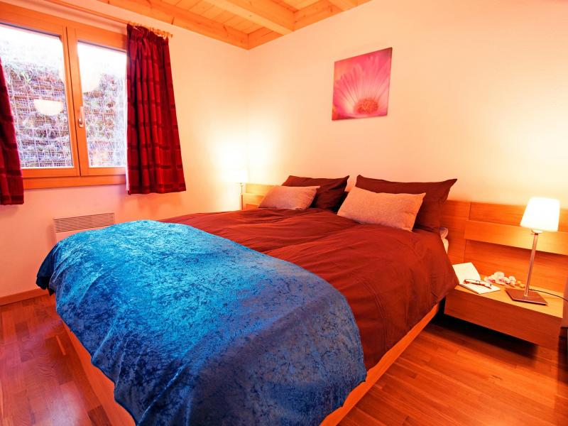 Holiday in mountain resort Chalet Panorama - Thyon - Bedroom