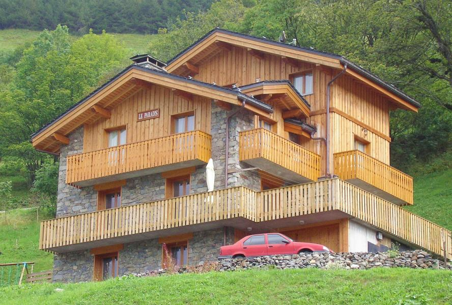 Holiday in mountain resort Chalet Paradis de St Martin - Saint Martin de Belleville - Summer outside