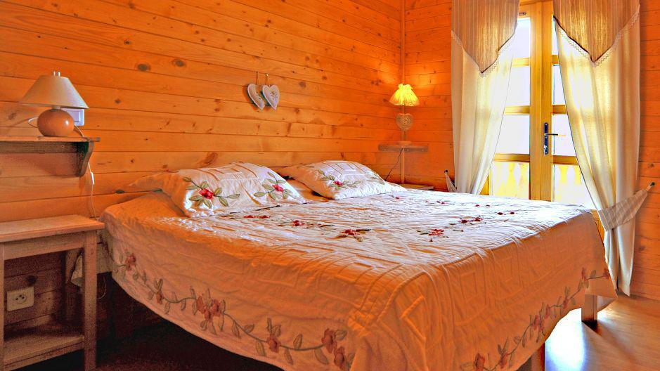 Holiday in mountain resort Chalet Paulo - Saint Martin de Belleville - Bedroom