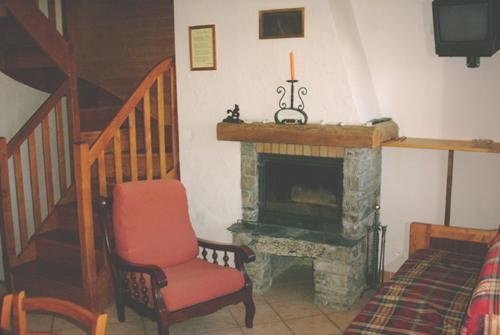 Vacances en montagne Chalet triplex 5 pièces 10 personnes - Chalet Pépé Martin - Saint Martin de Belleville - Cheminée