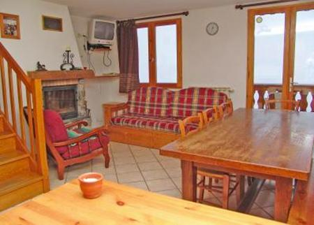 Vacances en montagne Chalet triplex 5 pièces 10 personnes - Chalet Pépé Martin - Saint Martin de Belleville - Séjour