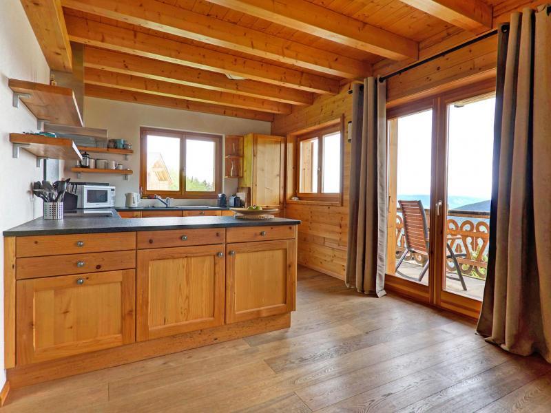 Vacances en montagne Chalet Perle des Collons - Thyon - Cuisine