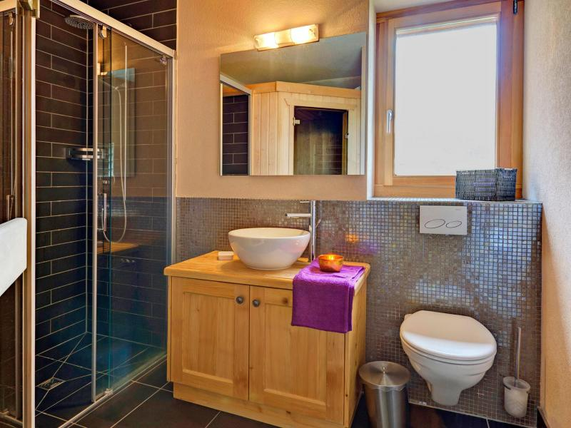 Holiday in mountain resort Chalet Perle des Collons - Thyon - Shower room