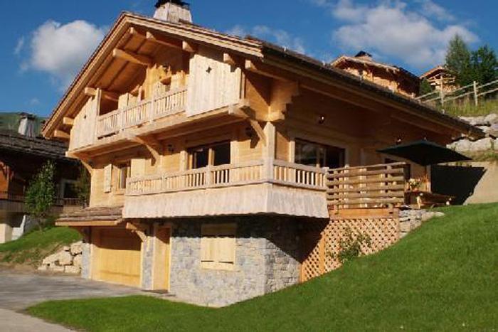 Vacaciones en montaña Chalet 6 piezas para 12 personas - Chalet Perle des Neiges - Le Grand Bornand - Verano