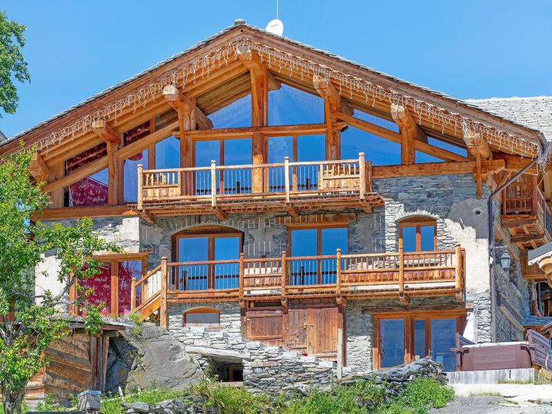 Wakacje w górach Chalet Perle des Neiges - Les Arcs - Na zewnątrz latem